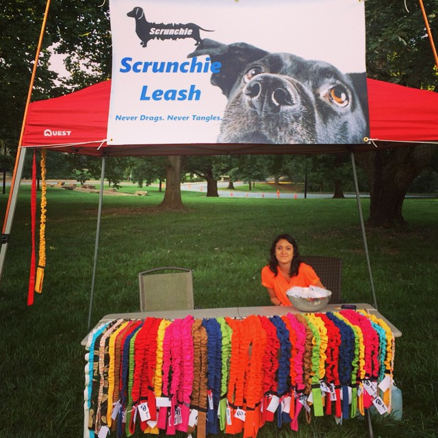 We had a great time at Mutt Strut Market in Greenville SC! #humanesociety #dogs #puppy #puppies #dog #5k #yeahthatgreenville www.scrunchieleash.com