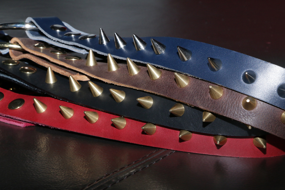 SPIKED SHOULDER HARNESS IN FOUR COLORS