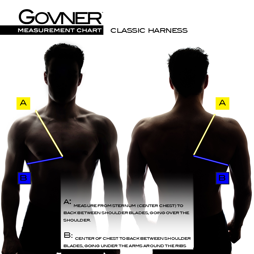CLASSIC TOP HARNESS MEASUREMENT GUIDE