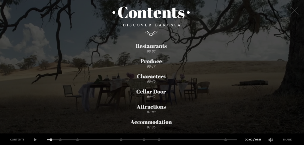 Deloitte Digital's work for Tourism South Australia's 'Be Consumed' campaign.