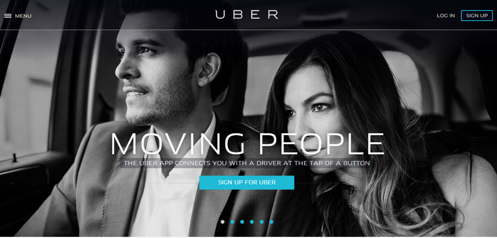 Uber prove that the marriage of tech & digital with the right product is a recipe for success.