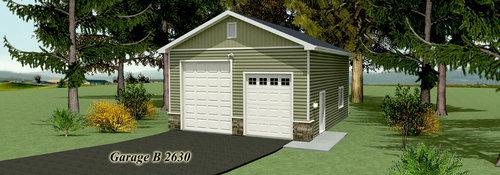 Garage Plans Wechsler Custom Homes – 26X30 Garage Plans