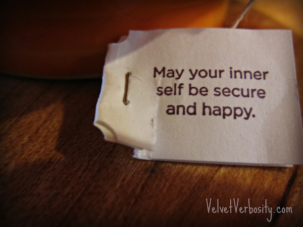 May your inner self be secure and happy