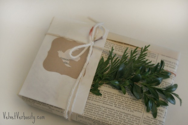 Antique Dictionary Page Giftwrap