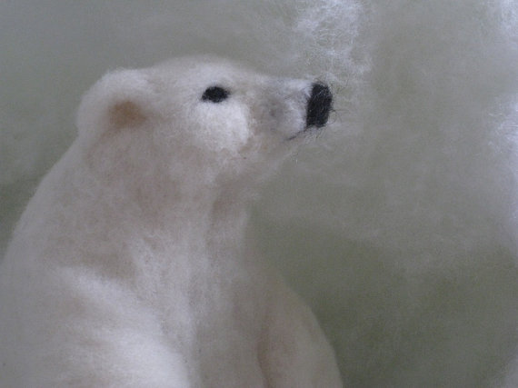 ShellsMysticFelts Polar Bear