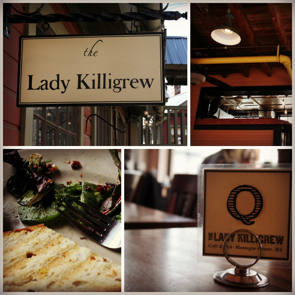 The Lady Killigrew is the resident café. They have the best tangerine-ginger tea and a chicken curry sandwich you'll dream about for months. I hear the other dishes are equally delicious. Micro-brew beer and wine too, and tables overlooking the river.