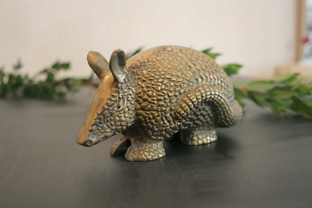 Brass Armadillo Paper Weight