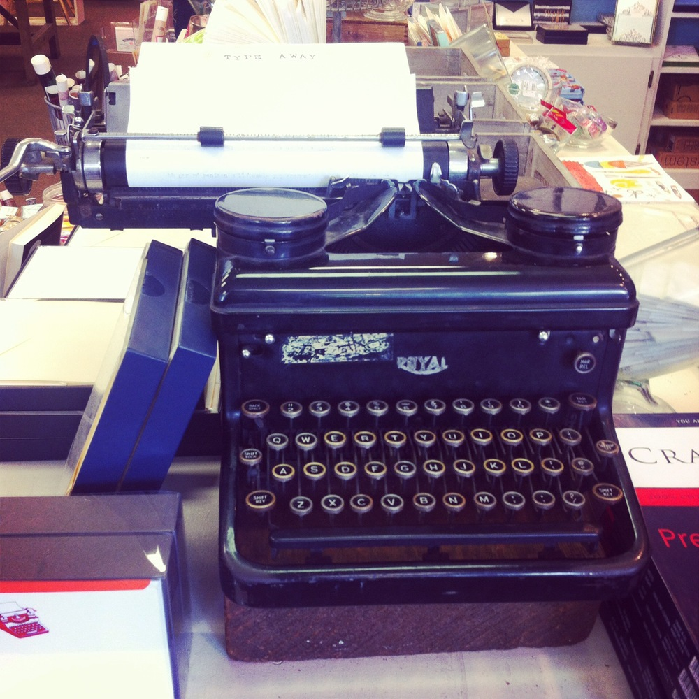 Antique Typewriter Northampton
