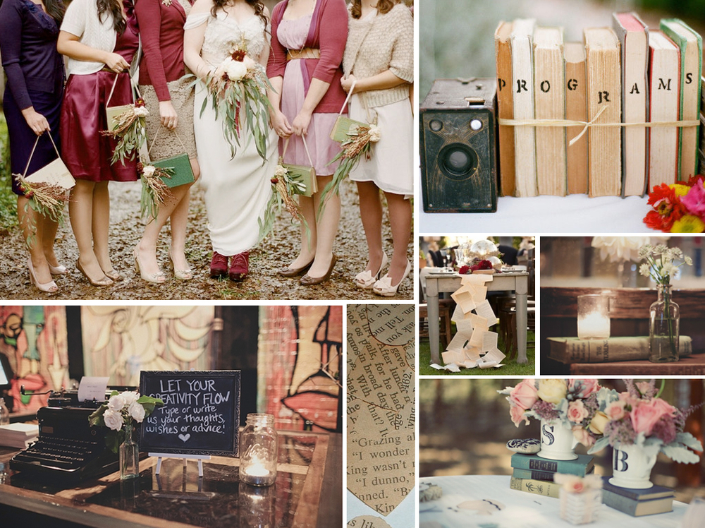 Bookish Wedding