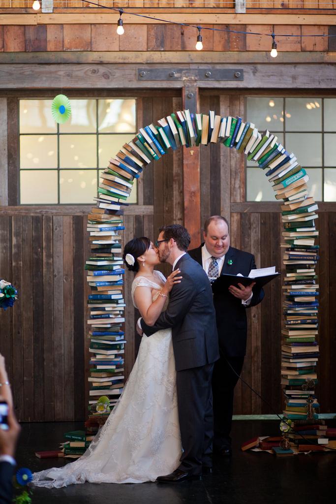 Bookish Nerd Wedding