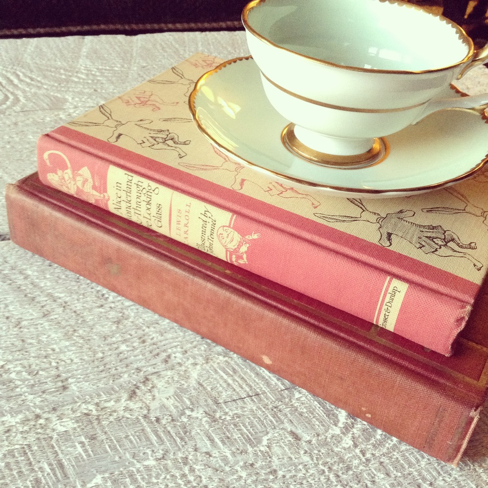 Vintage Alice In Wonderland Books
