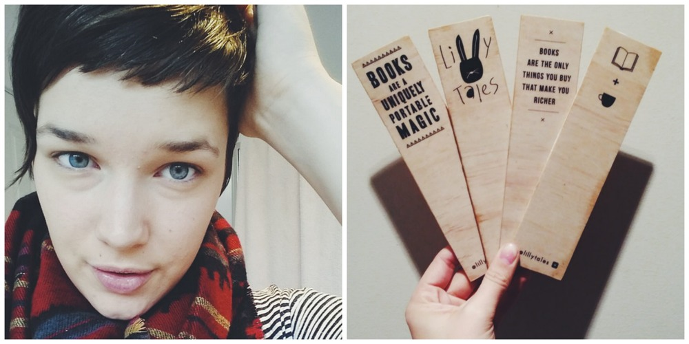 Wooden Bookmarks by Lilly Tales