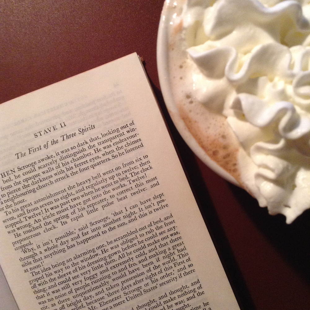 A Christmas Carol and Hot Chocolate