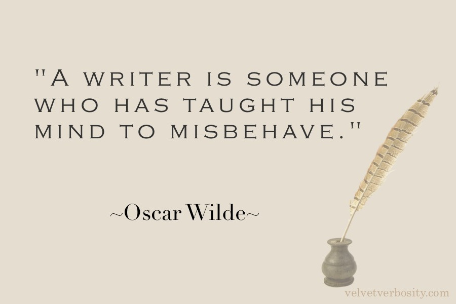 Oscar Wilde Quote on Writing