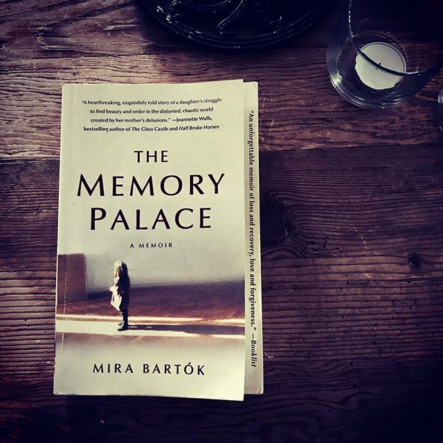 Finally, FINALLY, finished this memoir. It was a sweet, slow read full of beauty and pain and the messy vulnerability of being human. #thememorypalace #mirabartok #memoir #book #booknerd #bookish #amreading #bookphotography