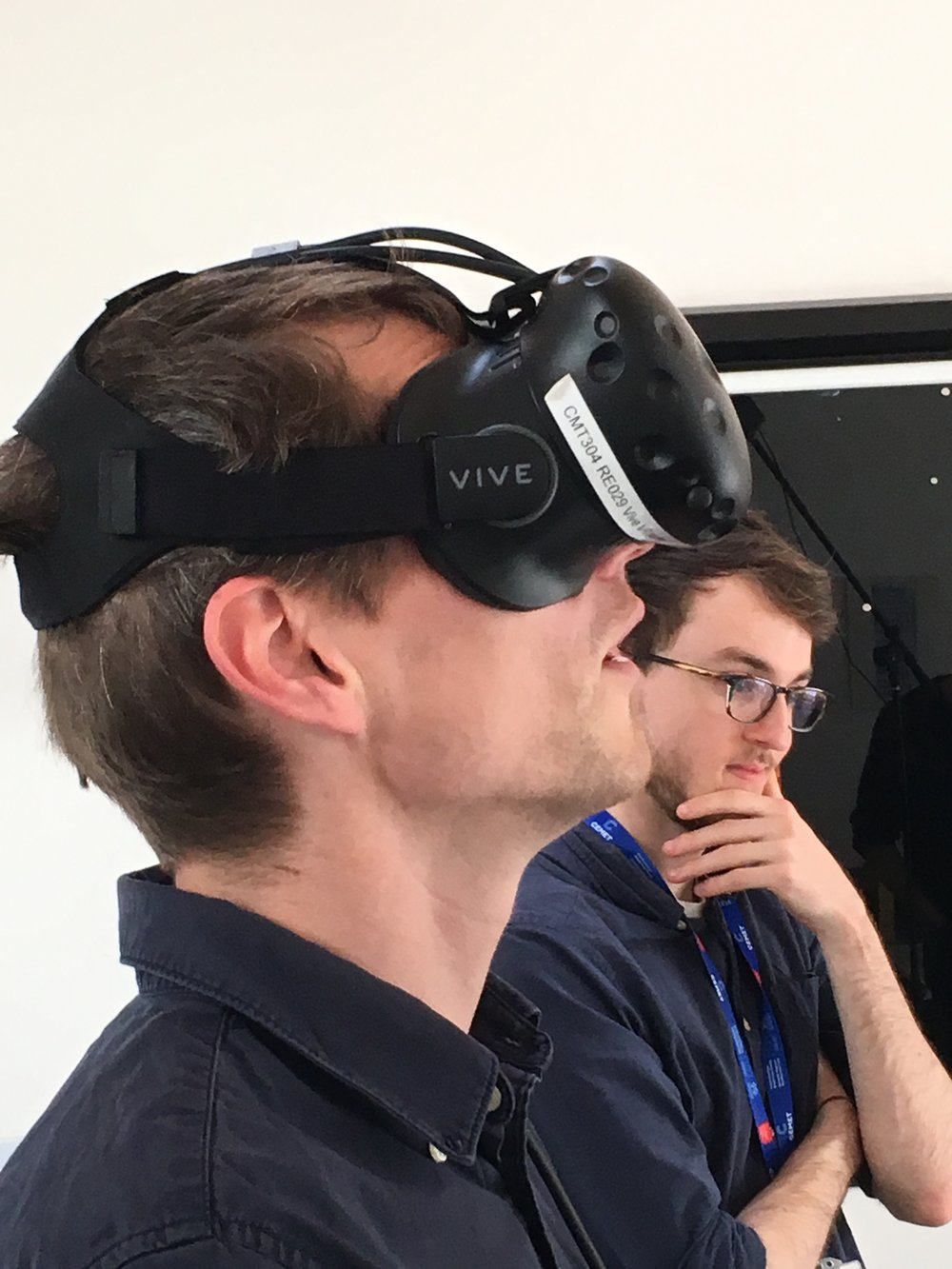 Billy going VR