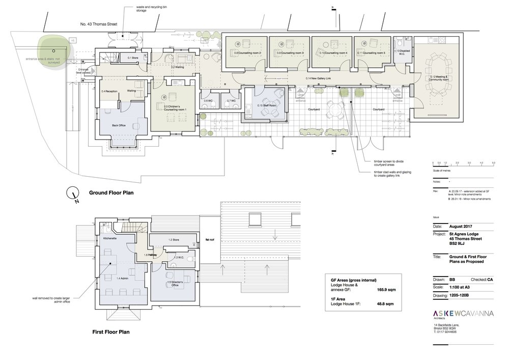 1205-120B St Agnes Proposed GF and 1F Plans .jpg