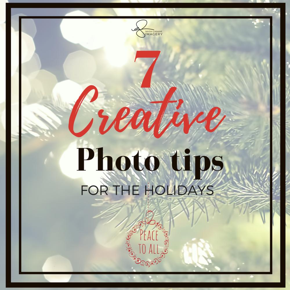 7 Smartphone Photography tips for Christmas.