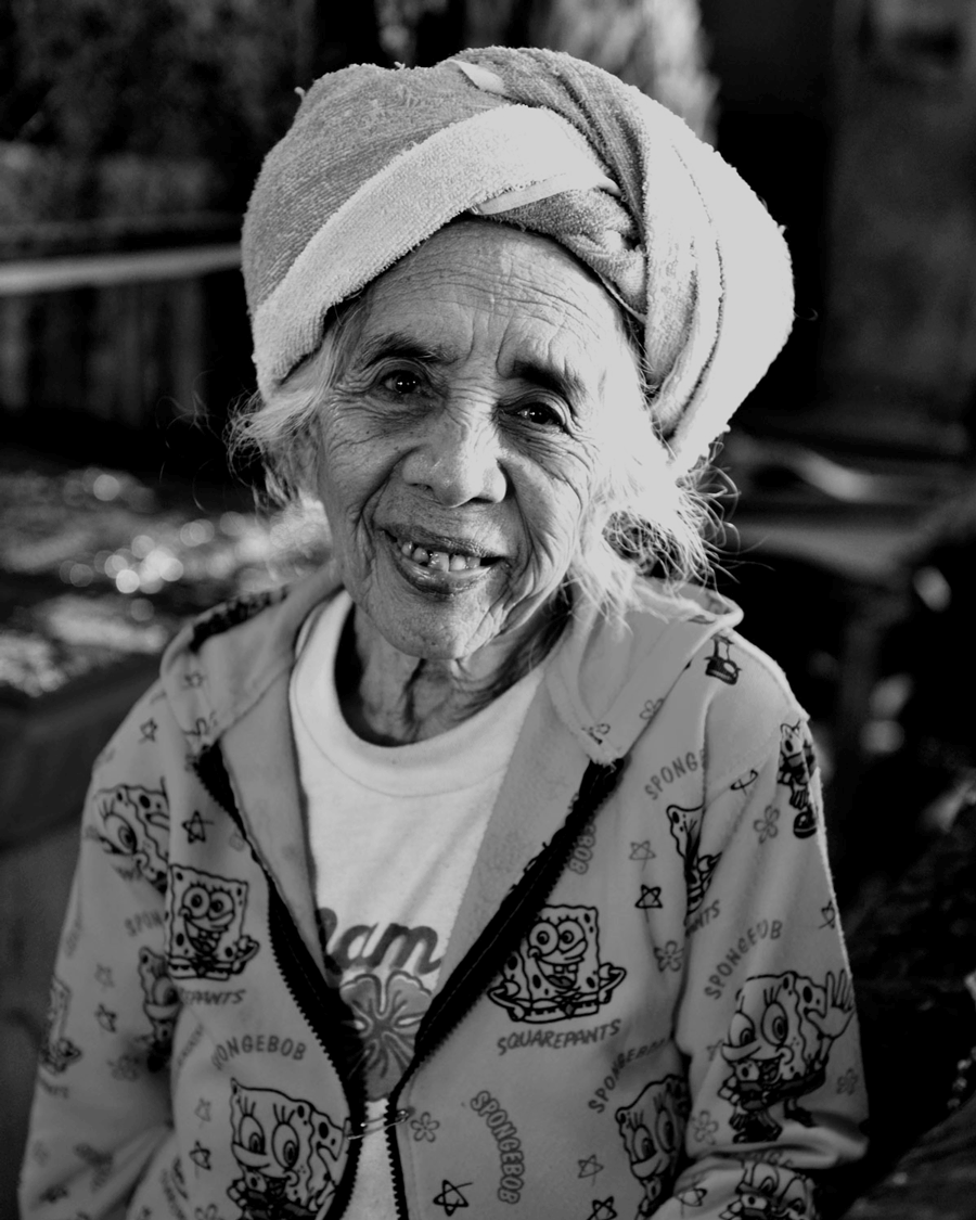 'Cantik [Beautiful] Woman' © Naida Ginnane 2014 Nikon D800, 24-70mm lens f/6.3, 1/250, ISO 100. This gorgeous lady was very gracious to pose for me in a market in Ubud. I told her I thought she was cantik!