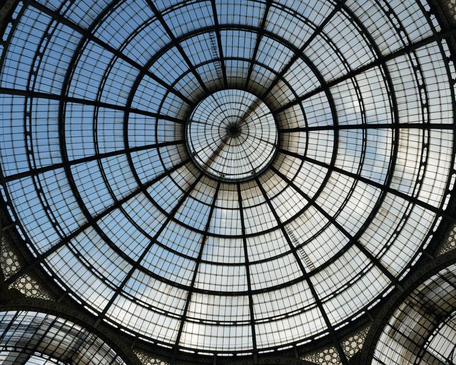'Galleria Dome' © Naida Ginnane 2015, Nikon D800, 24-70mm lens. 1/125 f/8.0, ISO 160.