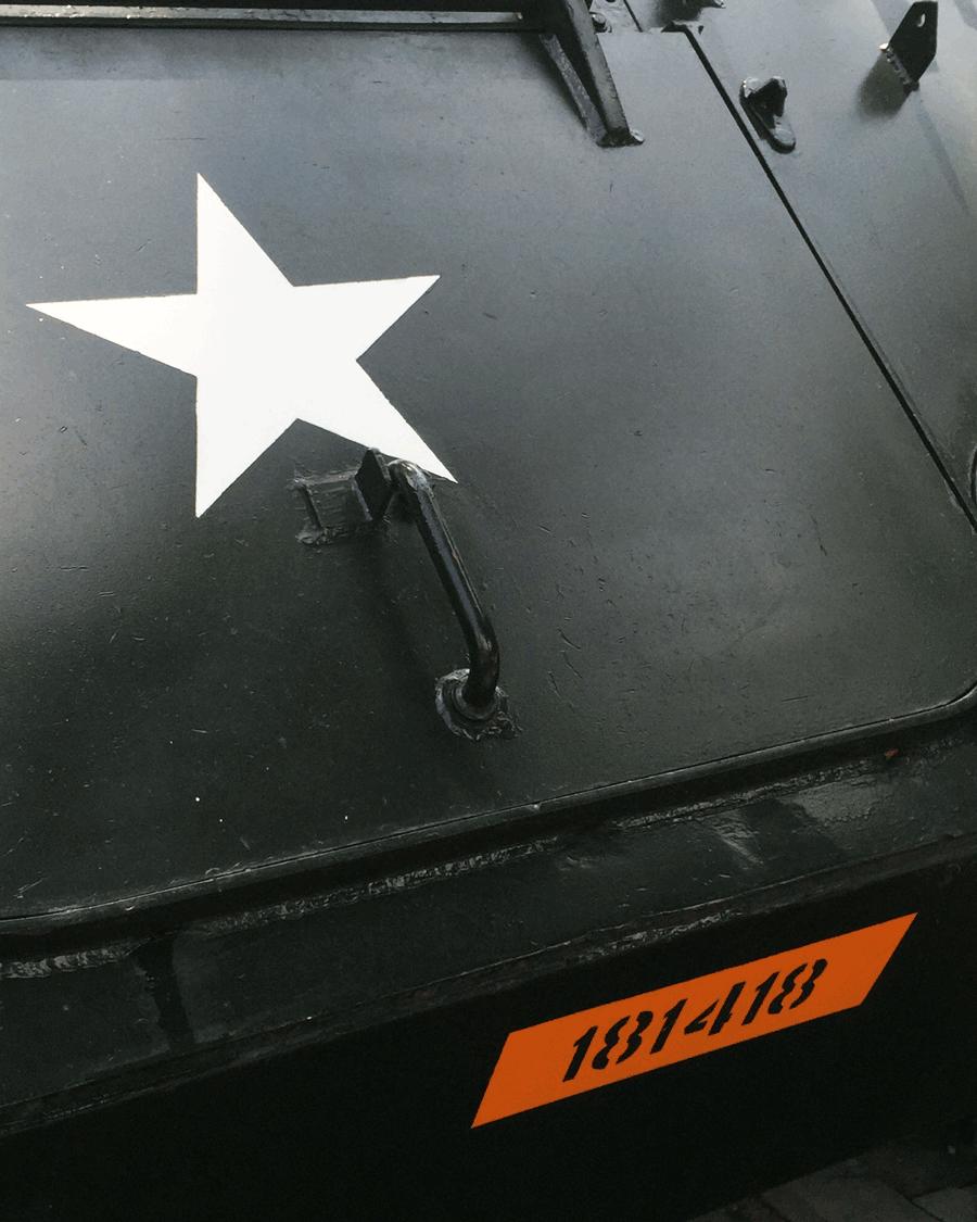 'Tank Star' © Naida Ginnane 2016, iPhone 6 f/8, 1/80, ISO 125.