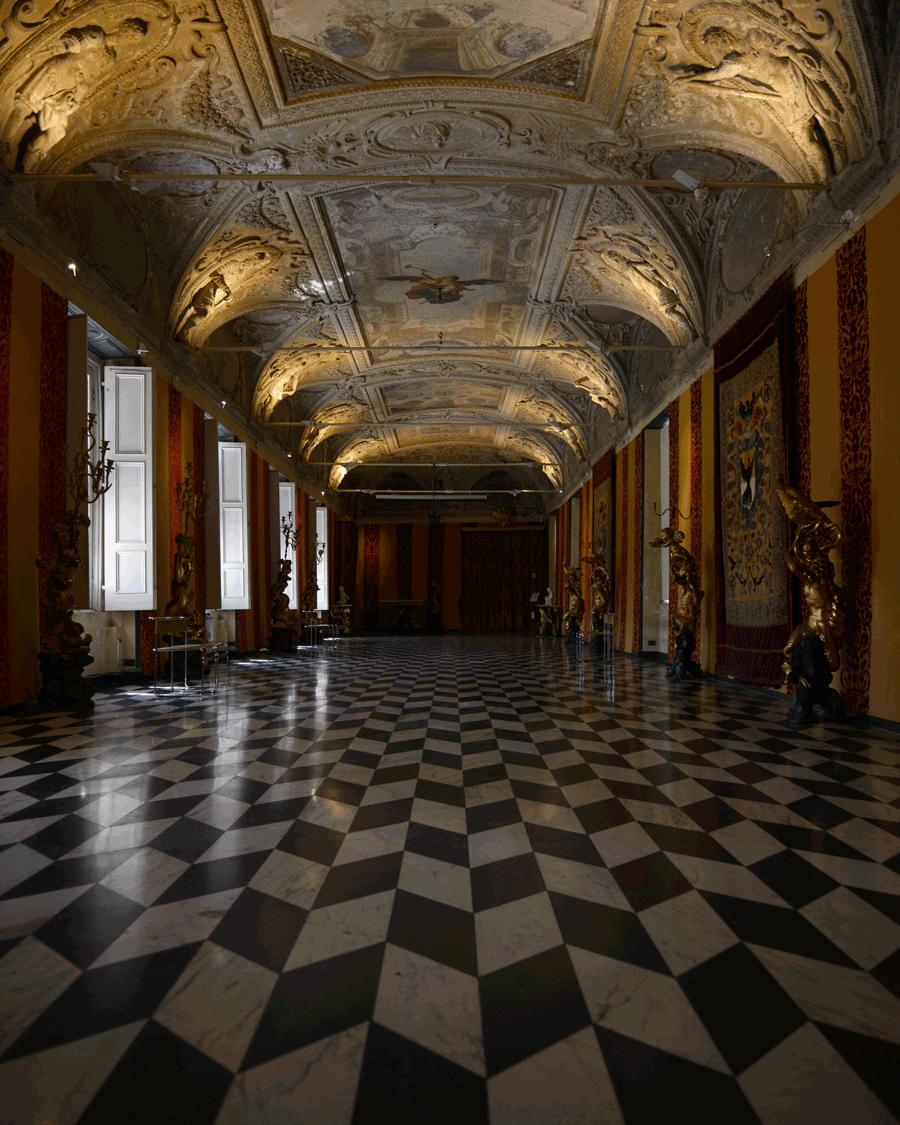 'Palace Hall' © Naida Ginnane 2016 Nikon D800 24-200mm lens 1/60, f/13, ISO 100.