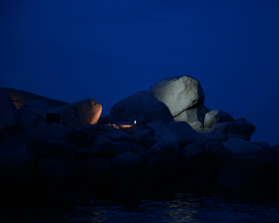 'Blue Night' © Naida Ginnane 2016 Nikon D800 24-70mm lens, 1/40, f/5.6, ISO 800.
