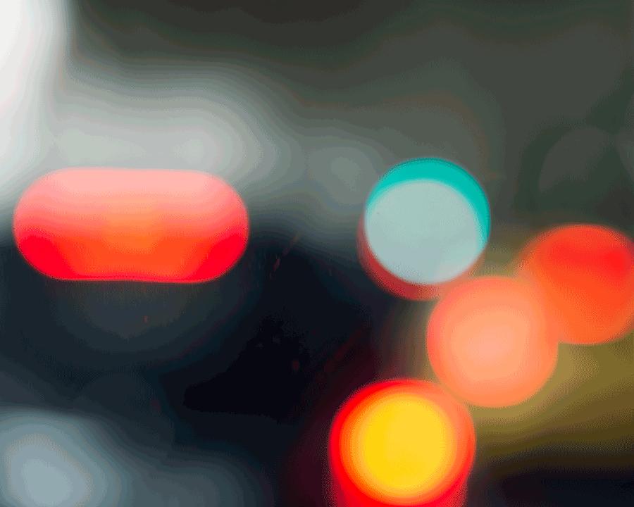 'Tail Lights' © Naida Ginnane 2018 Nikon D800 85mm lens, 1/60, f/2.0, ISO 100 -0.67