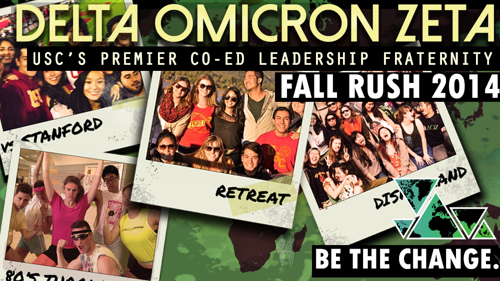 DOZ Fall Rush 2014 is here! Click to go to the Facebook event page.