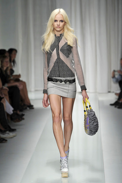 Photos courtesy of  elle.com   Ginta Lapina is one of my favorite models right now. She rocks the runway.