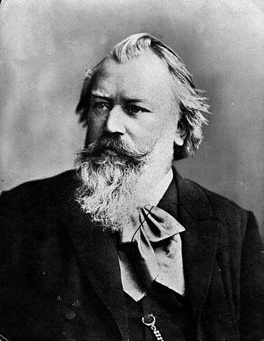 Johannes Brahms. Public Domain {{PD-1923}}