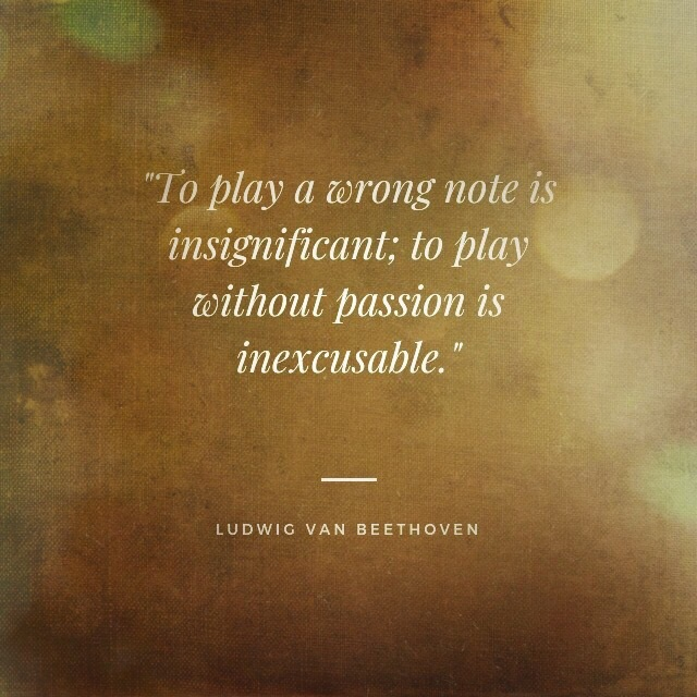 One Of My Favorite Quotes Beethoven Said It Right Piano