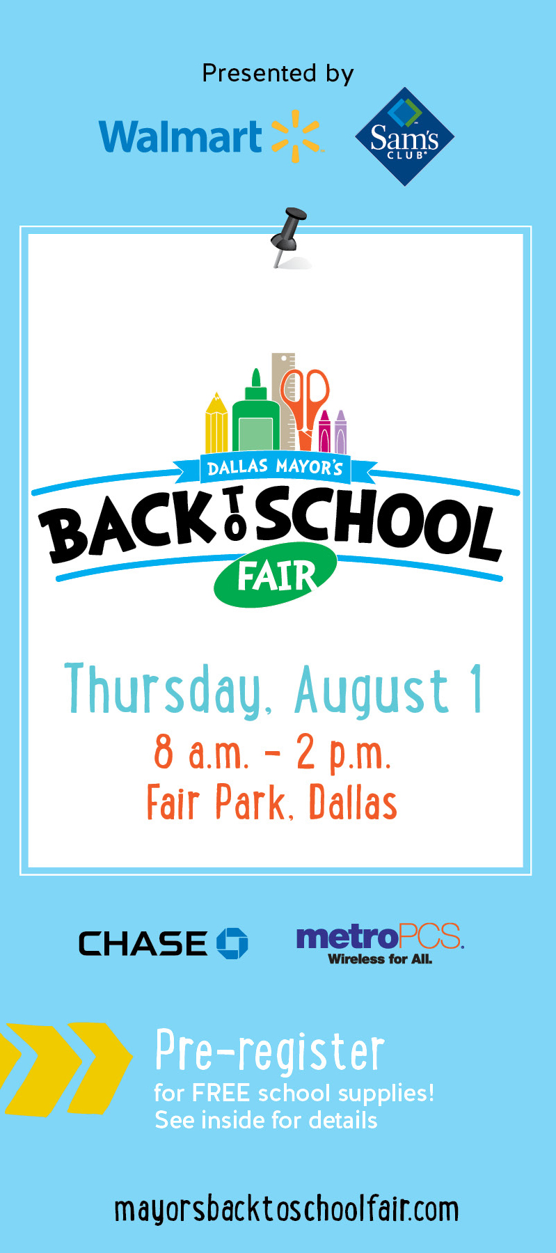 Dallas Mayor's Back to School Fair