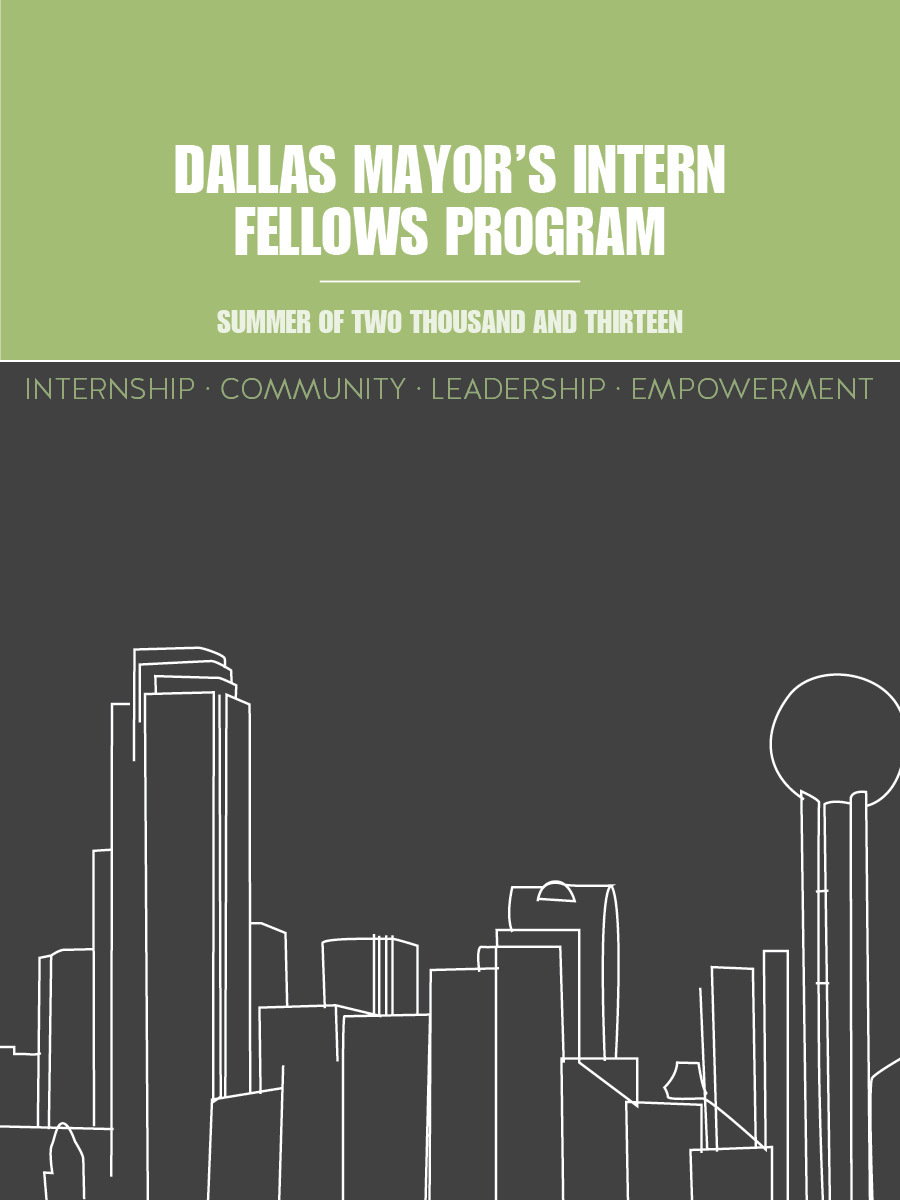 Dallas Mayor's Intern Fellows Program