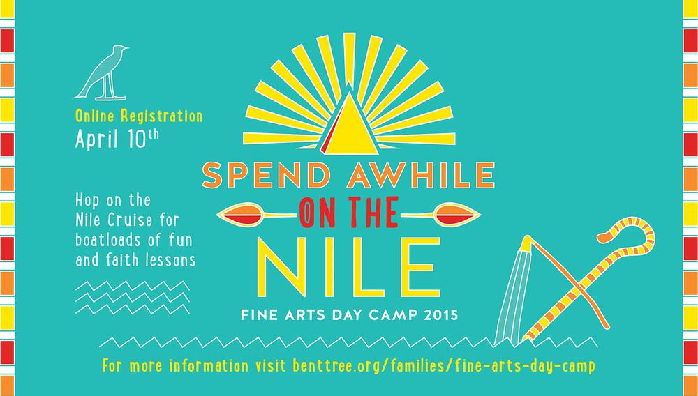 Fine Arts Day Camp Branding Design