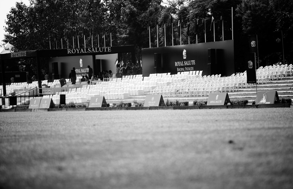 Jaipur Polo Grounds all decked up and waiting for the action to start
