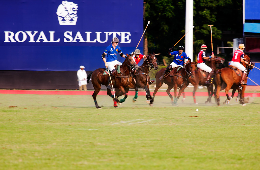 Match was played between Jindal Panthers and 61st Cavalry Polo team