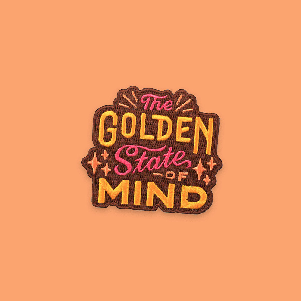 """The Golden State of Mind"" patch"