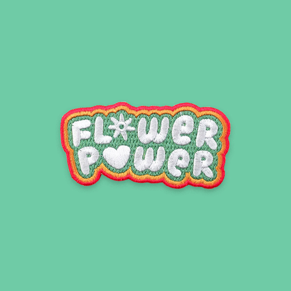 """Flower Power"" patch"
