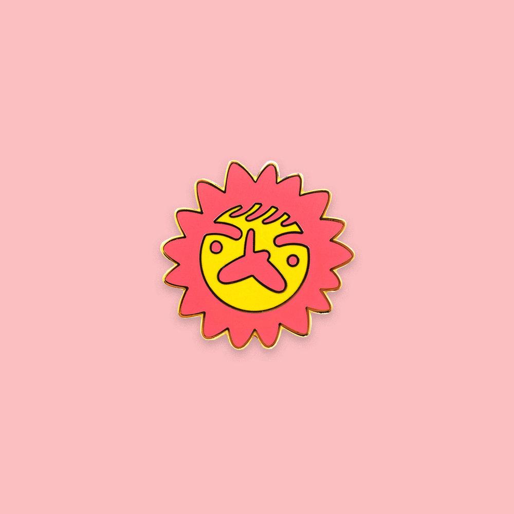 """""""Sun Dad"""" pin"""