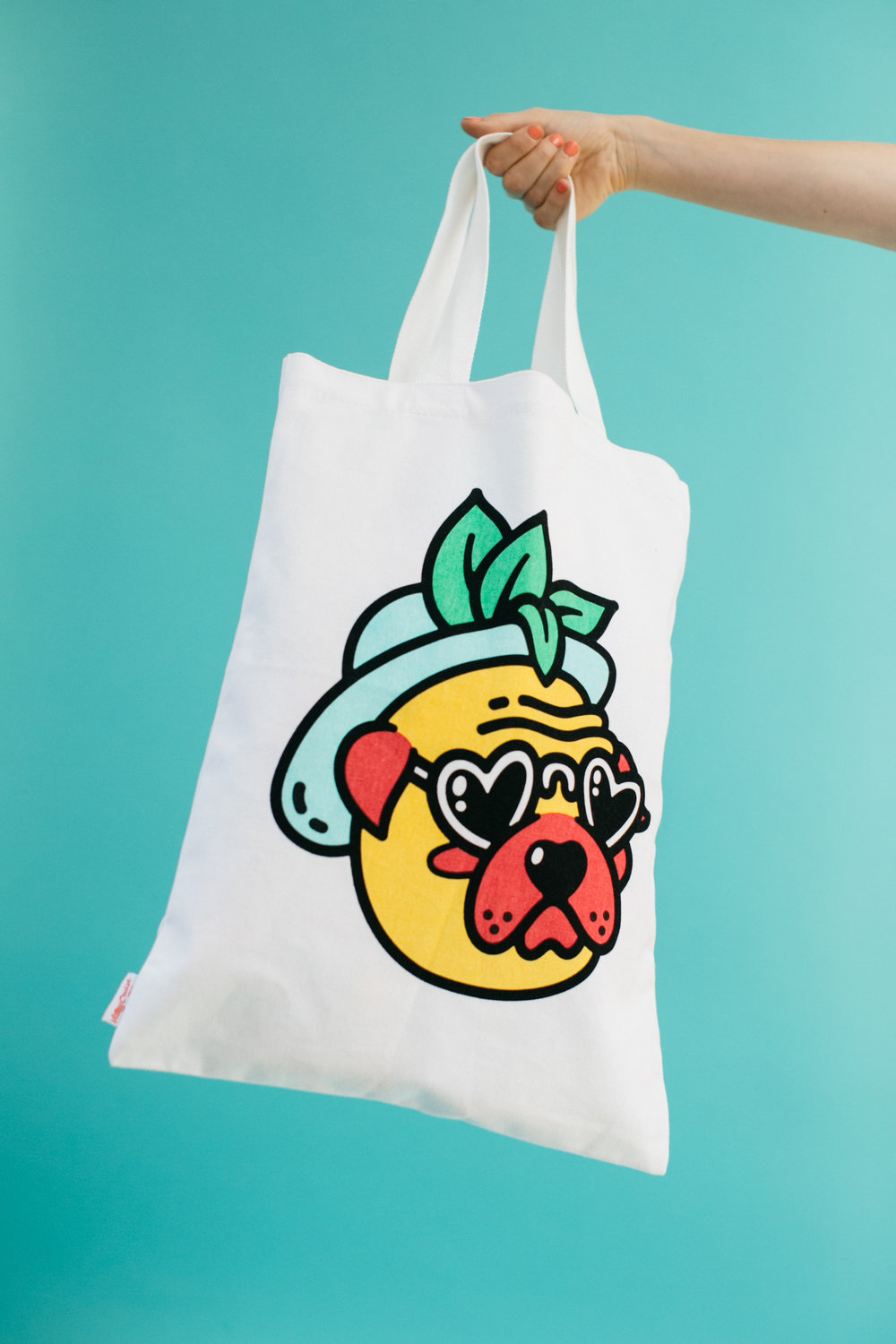 """Hot Under the Collar"" tote bag"