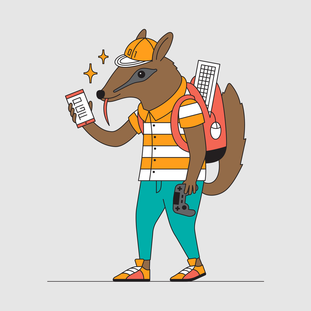 Numbat for the Perth Games Festival.