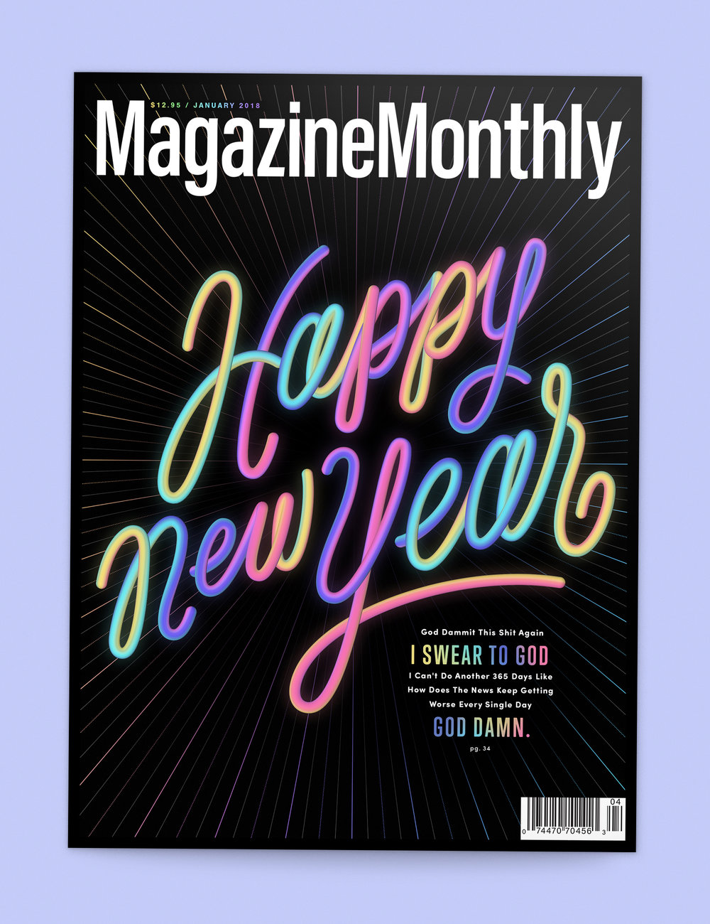 Issue #1:  The New Year Issue