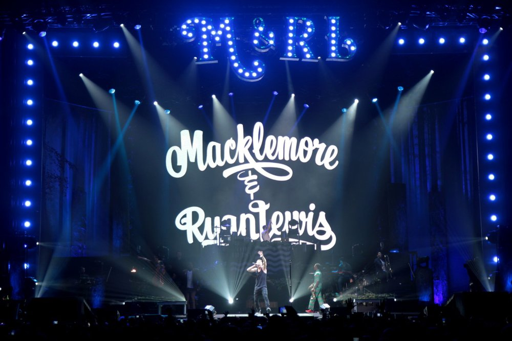 Macklemore and Ryan Lewis - Key Arena, Seattle