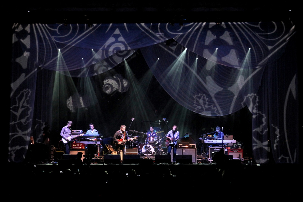 Wilco Solid Sound 2013 - Lighting - Projection - Scenic Design - Jeremy Roth