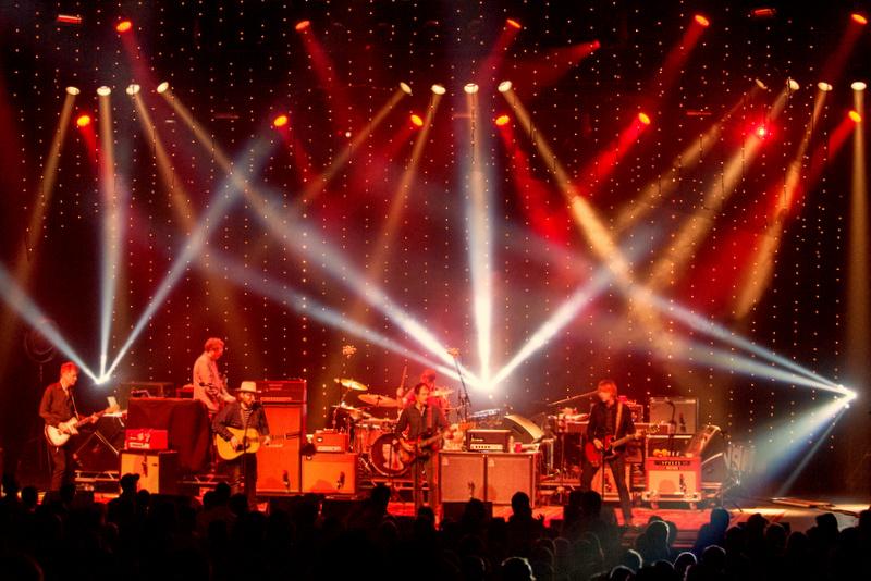 Wilco - Star Wars Tour; Photo: Andrew Blackstein; Lighting Design: Jeremy Roth