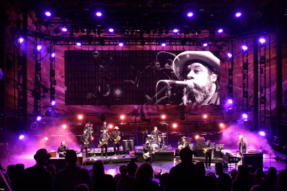 Nathaniel Rateliff and the Night Sweats at Red Rocks