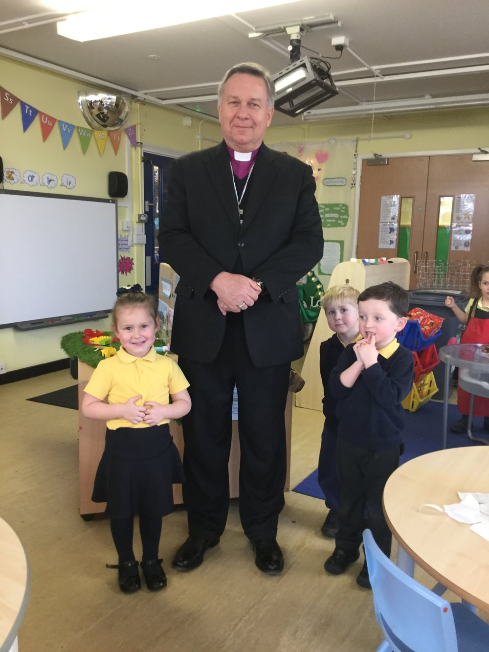 We enjoyed a visit from the Archbishop of New Zealand and the Director of the Anglican Centre in Rome,the Most Reverend David Moxon