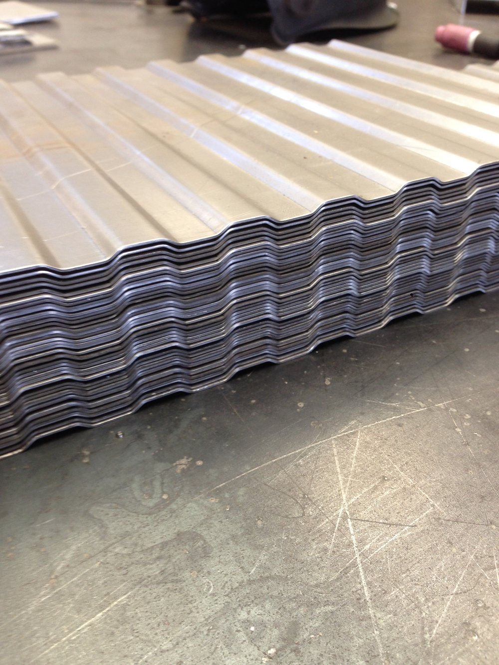 HYDRAYLICALLY PRESSED STEEL USING CUSTOM MADE TOOLING