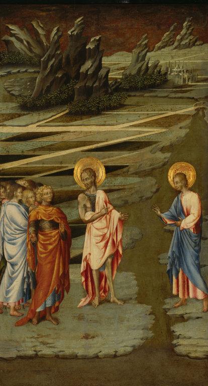 Ecce Agnus Dei (Behold the Lamb of God) , Giovanni di Paolo (Siena, ca. 1403-1483)